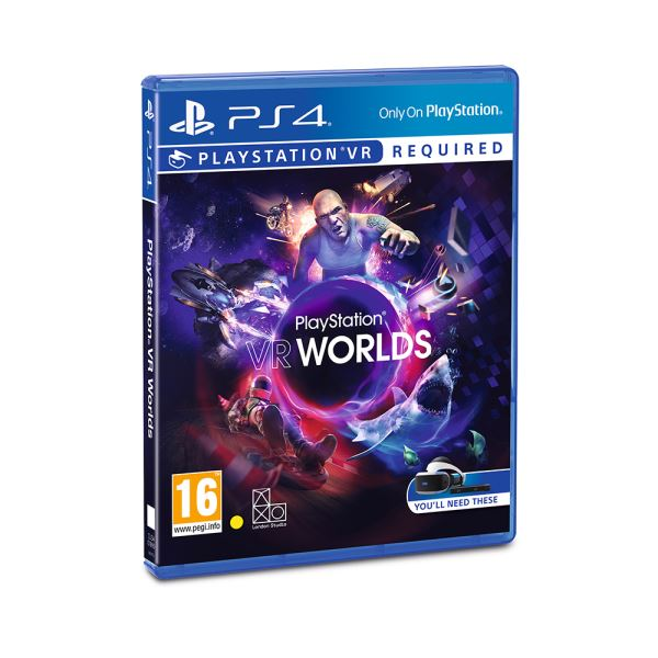 SONY PS VR Oyun: VR Worlds