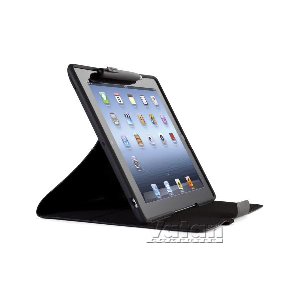 13840 MAGFOLİO THE NEW İPAD KILIF VE STAND- (SİYAH)