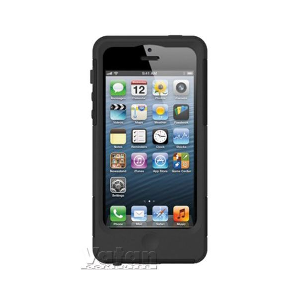 21001 SAFEPORT İPHONE 5 SERT KILIF-  (SİYAH)