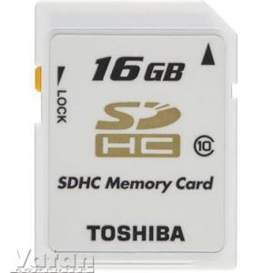 TOSHIBA 16 GB SDHC CLASS 10 HIGH SPEED PROF+BLISTER HAFIZA KARTI