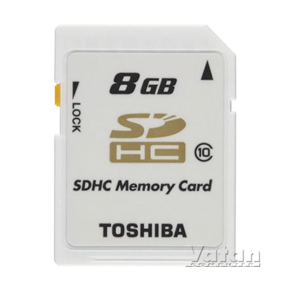 TOSHIBA 8 GB SDHC CLASS 10 HIGH SPEED PROFESSIONAL HAFIZA KARTI
