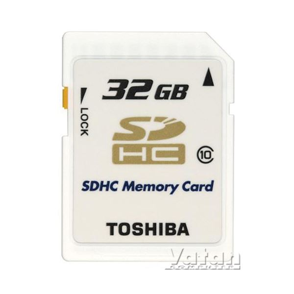 TOSHIBA 32 GB SDHC CLASS 10 HIGH SPEED PROF+BLISTER HAFIZA KARTI