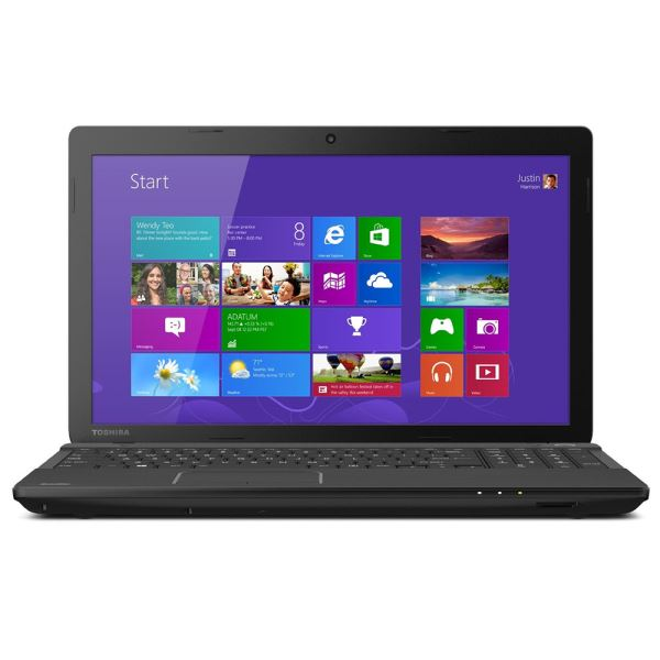 TOSHIBA SATELLITE C55 PENTIUM N3540 2.16GHZ-4GB-750GB-INT-15.6-W8.1 NOTEBOOK