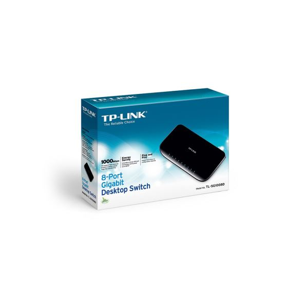 TP-LINK TL-SG1008D GIGABIT 8 PORT SWITCH