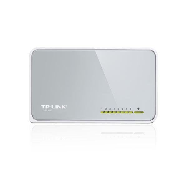 TP-LINK TL-SF1008D 10/100 8 PORT SWITCH