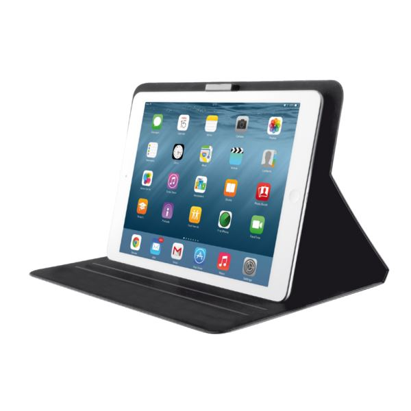 20295 IPAD 2/3/4/AİR/AİR2 AEROO ULTRAHİN FOLİO STAND- (SİYAH)