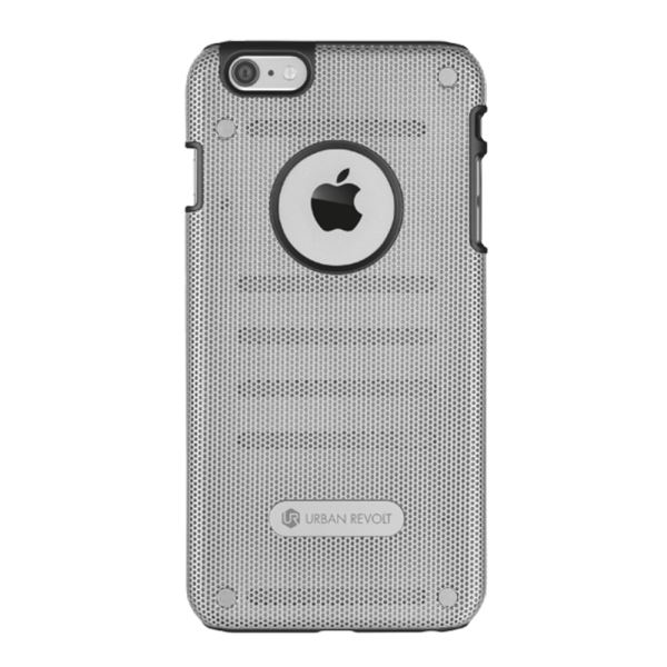 20343 TRUST URBANREVOLT ENDURE GRİP & PROCTİON CASE IPHONE6 PLUS KILIF- (GÜMÜŞ)