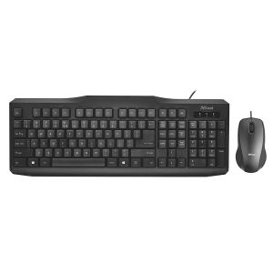 TRUST 22065 Classicline Wired Keyboard and Mouse TR