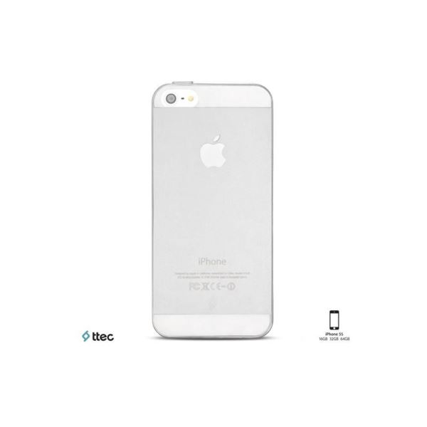 2PNS2002SF TTEC SUPERSLİM IPHONE 5/5S KORUMA KAPAĞI- (ŞEFFAF)