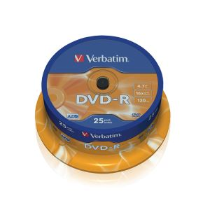 DVD-R 16X 4,7GB 25'Lİ CAKE BOX