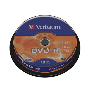 DVD-R 16X 4,7GB 10'LU CAKE BOX