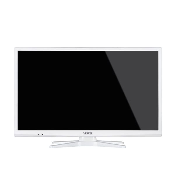 VESTEL 24HB5100B  24'' 61 CM HD SLİM LED TV,HD DAHİLİ UYDU ALICI,BEYAZ