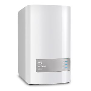 "WD 3,5"" 8TB My Cloud Mirror NAS Gigabit Ethernet Kişisel Bulut Depolama"