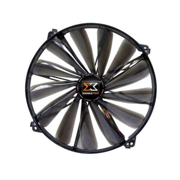 XIGMATEK XLF SERİSİ 170MM BEYAZ LED FAN