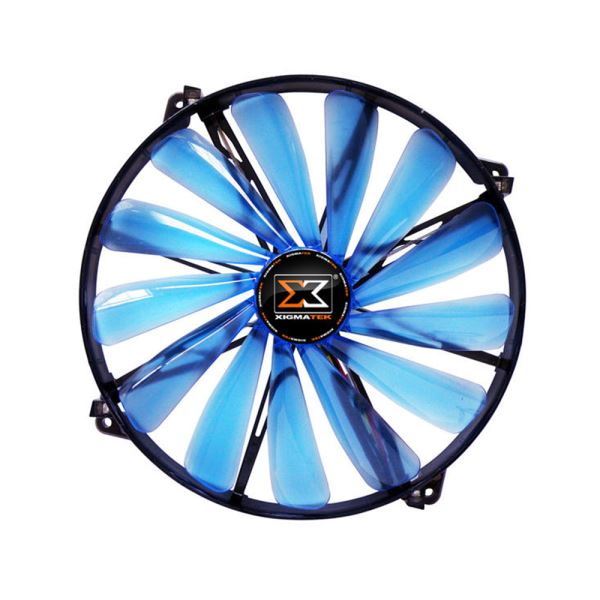 XIGMATEK XLF SERİSİ 200MM MAVİ LED FAN