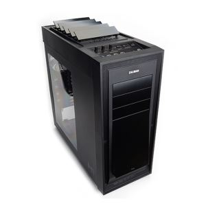 ZALMAN H1 AUTIMATIC HEAT VENTILATION FULL TOWER SİYAH KASA